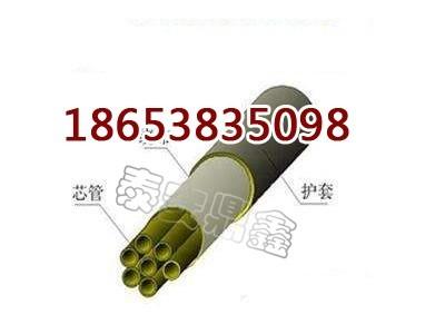 PE-ZKW8*1束管厂家束管管缆