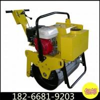 600型轻型光轮压实机小型沟槽轧土机大钢轮振动碾