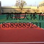 河池标准尺寸篮球场硅PU工程造价,硅pu篮球场施工队伍