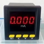 数显电流表72x72 直流mA毫安表 PA195I-AX1