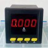 数显电流表72x72 交流单相电流表 PA194I-AX1
