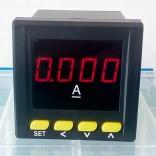 数显电流表72x72 单相直流电流表 PA195I-AX1
