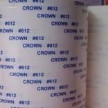 皇冠双面胶带 CROWN613高温双面胶带 皇冠强粘双面胶纸