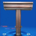 温州铝合金成品雨水槽多少钱一米18257110051