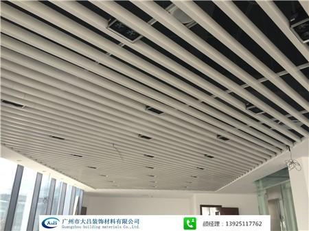 广州现货 氧化银色料6063铝方管 10101铝方通 6米长