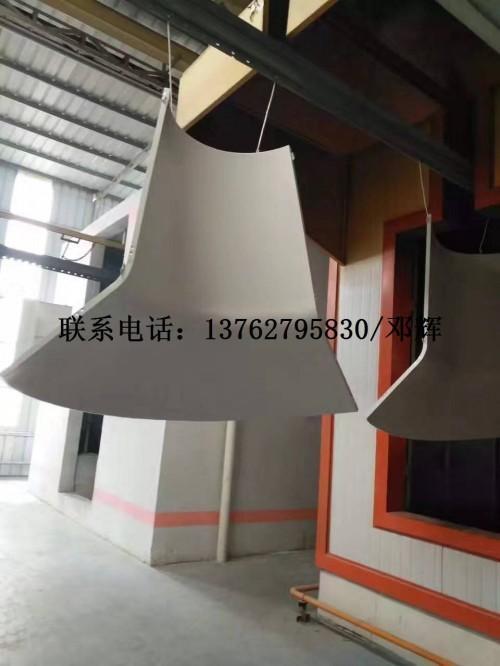 供应外墙装饰氟碳铝幕墙双曲弧形铝板双弧形包柱板单曲铝板