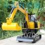 小型挖掘机价格迷你隧道履带挖掘机小型履带式挖掘机图纸