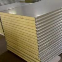 供甘肃兰州彩钢岩棉复合板和白银彩钢岩棉板