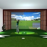 北京体太福高尔夫模拟器价格