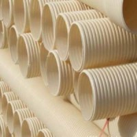 供兰州HDPE钢带增强波纹管和甘肃PVC双壁波纹管质量优