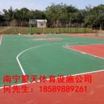 横县丙烯酸篮球场造价     篮球场地坪价格