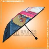 荃雨美雨伞厂生产-数码印卡通伞  荃雨美  广州市荃雨美雨伞