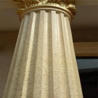 罗马柱水包水多彩漆涂瑞特多彩涂料