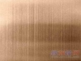 佛山玫瑰金不锈钢拉丝板