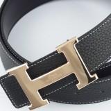 爱马仕Hermes皮带 H扣24K真金电镀 经典皮带扣加工厂
