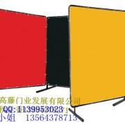 焊接防护屏风、pvc防弧光板、pvc防弧光帘、遮弧屏4