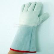 特种牛皮耐低温手套 LNG加气站 冷库作业 耐低温防手套