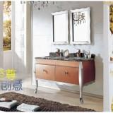 广东厂家直销不锈钢浴室柜卫浴柜镜