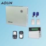 奥林4099总线制防盗报警器店铺红外线门窗磁无线有线智能安防