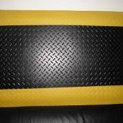 库房地面铺防静电地垫 接缝处理方法 防滑抗疲劳脚垫