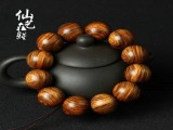 直销精美越南黄花梨20mm*12颗佛珠手串饰品量大从优批发