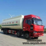 供应解放J6粉粒物料运输车,散装水泥罐车钱