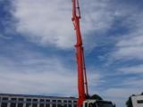 山东鸿达39米日本原装五十铃底盘混凝土泵车首次出口缅甸