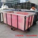 江苏方形布车桶 苏州印染推车桶 扬州塑料方桶
