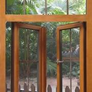 慕尼门窗(图),铝木复合门窗型材,长乐铝木复合门窗