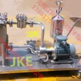 无锡江科 金属氧化物溶液在线式高剪切分散机