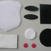 白色羊毛毡缓冲垫