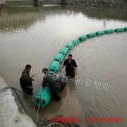 梅州水库垃圾围栏浮排浮筒