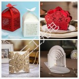结婚贺卡模板-激光镂空、打孔、雕刻、打标