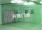 兴德1.0*30*1.37米防静电网格帘 透明软门帘