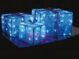 供应七彩玫瑰花灯 滴胶小礼盒LED星星灯 七夕情人节