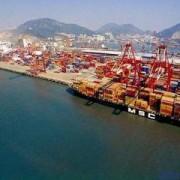 辽宁营口到上海港海运内贸公司海运集装箱