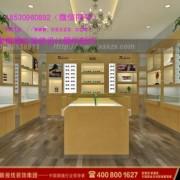 眼镜店装修木制展柜柜型都有哪些可以选择眼镜店装修公司