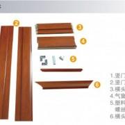 北京木塑门套加工窗套垭口门套线木塑材料塑木材质