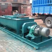 宏瑞SJ-40型双轴粉尘加湿机双轴搅拌机双轴搅拌加湿机噪音低