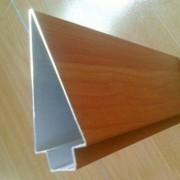 广东生产厂家供应集成吊顶铝方通50*100天花吊顶木纹铝方通