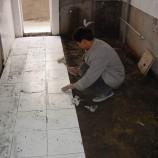 泥水装修工程,贴地板砖