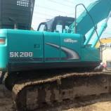 售二手神钢SK200-8挖掘机报价多少钱日本原装进口神钢