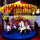新疆游乐设备厂家简易转马