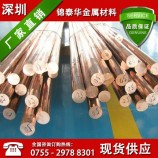 供应高纯度t2紫铜棒  高导电导热